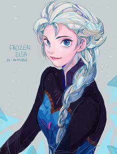 Tags: Anime, Disney, Frozen (Disney), Elsa the Snow Queen, Pongble