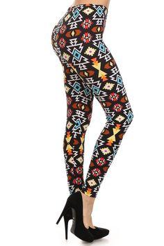 2b1789d86efcc Viv Leggings, Printed Leggings, Christmas 2016, High Waist, Pajama Pants,  Navajo