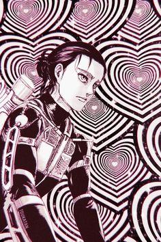 Animes Wallpapers, Aesthetic Anime, Attack On Titan, Haikyuu, Locks, Highlights, Cool Stuff, Random, Purple And Blue