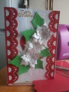 Spellbinder Christmas card
