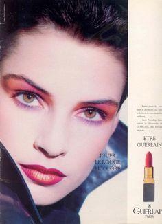 Guerlain ad, 1980s.