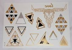 geometrical shapes tattoo - Google Search