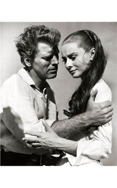 Audrey Hepburn, The Unforgiven John Huston) starring Burt Lancaster The Unforgiven is a 1960 American western film directed by John Huston. It stars Burt Lancaster, Audrey Hepburn, Audie Mur. Golden Age Of Hollywood, Vintage Hollywood, Classic Hollywood, Hollywood Images, Lancaster, British Actresses, Actors & Actresses, Audrey Hepburn Born, Westerns