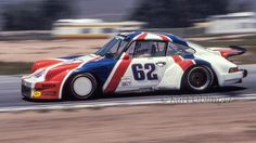 Koll-Kline GTU 911. Riverside 1981. I always liked the color scheme on this car says Kurt Oblinger