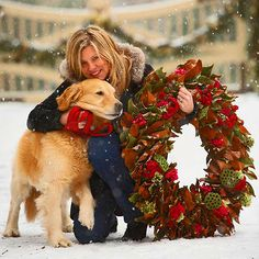 A Canine Christmas - Cindy Rinfret and family in Traditional Home®