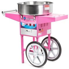 Candy Floss Sugar, Cotton Candy Cone, Stainless Steel Kettle, Candy Cart, Lolo, Motor Works, Heating Element, Storage Bins, Working Area