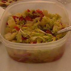Recept Salát z čínského zelí s ananasem od Jan Stříbrný - Recept z kategorie Předkrmy