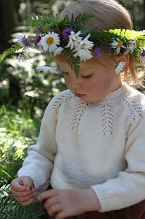 Ravelry: Forest Fern Sweater pattern by Siv Jane Aksdal