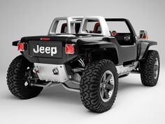 2005 Jeep Hurricane Concept - Rear Angle - 1920x1440 Wallpaper