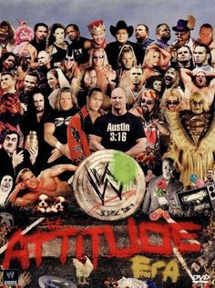Shop WWE: The Attitude Era Discs] [DVD] at Best Buy. Find low everyday prices and buy online for delivery or in-store pick-up. Wrestling Posters, Watch Wrestling, Wrestling Wwe, Wwe Attitude Era, Goldberg Wwe, Wwe Dvd, Eddie Guerrero, Mick Foley, Vince Mcmahon