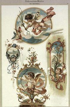 Cherub Tattoo, Victorian Crafts, Old School Tattoo Designs, Ange Demon, Arte Sketchbook, Dark Art Drawings, Photocollage, Angel Art, Sacred Art