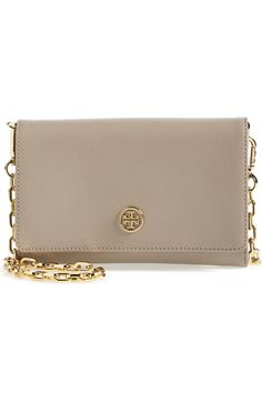 Tory Burch Robinson Leather Wallet | Nordstrom