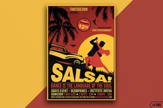 Salsa Flyer Template V3 by Thats Design Store on @creativemarket