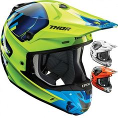 Thor MX Verge Vortechs Mens Off Road Dirt Bike Motocross Helmets