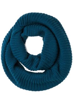 Modcloth Dressed to Chill Circle Scarf in Marine. Reswap, great condition. I just can't do scarves apparently. :( Sell for $20 shipped.