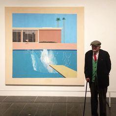 David Hockney at The Met, NY