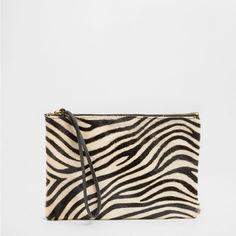 ZEBRA SPONGE BAG/CLUTCH - Accessories - Homewear & shoes | Zara Home Sweden