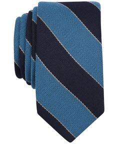 Bar Iii Bengal Stripe Tie, Only at Macy's