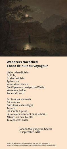 Goethe - Chant de nuit du voyageur