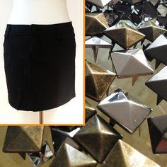 DIY-Artikel für Nietenfans! #nieten #studs #style #fashion #diy #nähen #rock #sewing #selfmade #mode