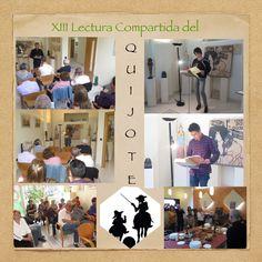Gran afluencia de gente a la XIII Lectura Compartida del Quijote ¡Gracias! a todos por participar. Os esperamos el año próximo en la XIV Edición