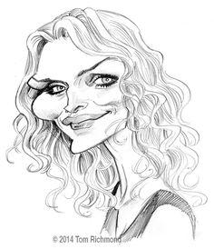 Michelle Pfeiffer. Tom Richmond.