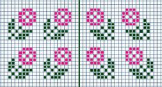 """Are you missing key exercises in your routine? And is that keeping you from reaching your goal? Our """"Dumbbell Workout Poster"""" will show you the absolute best dumbbell exercises to build the body you w Mini Cross Stitch, Cross Stitch Borders, Cross Stitch Designs, Cross Stitching, Cross Stitch Embroidery, Cross Stitch Patterns, Crochet Chart, Filet Crochet, Knitting Charts"""