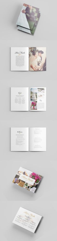 #magazine #design from Harrell Design Studio | DOWNLOAD: https://creativemarket.com/harrellds/534908-Wedding-Photography-Guide-Template?u=zsoltczigler