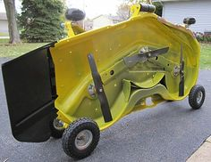 Click image for larger version Name: mower deck dollys II.jpg Views: 207 Size: KB ID: 235797 Compact Tractor Attachments, Garden Tractor Attachments, Small Tractors, Compact Tractors, Tractor Mower, Lawn Mower, John Deere Mowers, Homemade Tractor, Tractor Accessories