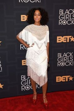 "Rihanna, Kelly Rowland and More Slay the ""Black Girls Rock!"" Red Carpet 