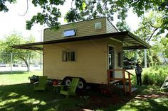 A tiny zero energy home built by students and recent alumni from Northwestern University.  Do you dream of such a home?