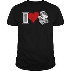 I Love Books Shirt Mens Premium TShirt