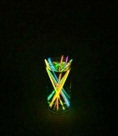Neon Centerpiece Glowing Centerpiece Wedding by...