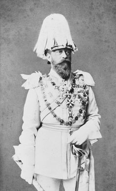 Emperor Friedrich III although ill he made the trip to celebrate Queen Victorias jubilee
