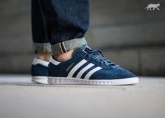 adidas Hamburg (Collegiate Navy / Ftwr White / Gold)