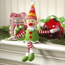 Elf Plush Ornament