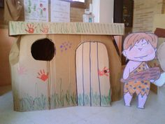 """La seño Mariló y sus niños: PROYECTO: """"LA PREHISTORIA"""" Teaching History, Teaching Science, Boat Crafts, Diy Crafts, Early Humans, History For Kids, Preschool Curriculum, Stone Age, Learning Centers"""
