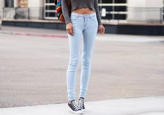 #dreamindenim light skinnies <3