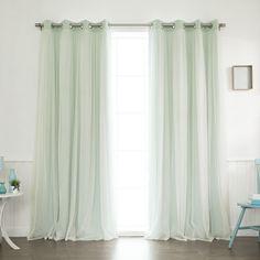 Tulle Blackout Grommet Curtain Panel | Joss & Main