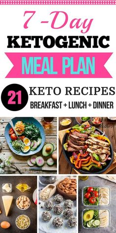 Ketogenic Diet for Beginners + 7 Day Meal Plan Check out this easy Free 7-day keto diet meal plan for week one! Includes ketogenic diet recipes for breakfast, lunch, and dinner! Awesome tips for beginners with keto food lists and rules of the ketogenic di