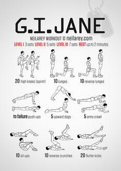 G.I. Jane Workout