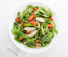 Atkins welcomes you to try our delicious Grilled Lime Chicken over Spinach Salad with Feta-Ranch Dressing recipe for a low carb lifestyle. Get started by browsing our full list of ingredients here. Atkins Recipes, Ketogenic Recipes, Keto Recipes, Healthy Recipes, Healthy Meals, Low Carb Dinner Recipes, Entree Recipes, Spinach Salad, Caprese Salad