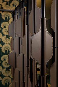 Amit Shah, Screen Material, Screen Design, Saddle Leather, Interactive Design, Shutters, Accent Pieces, Screens, Furniture Design