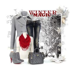 """""""Winter Wonderland"""" by casuality on Polyvore"""