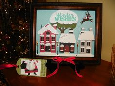 One of my favorite home decor projects!  Cricut Jolly Holidays