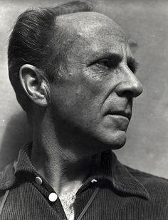 Edward Weston, 1939 - Photo by his son Brett