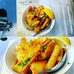 """The Spicy Wedges  #zomato #zomatodubai #zomatouae #dubai #dubaipage #mydubai #uae #inuae #dubaifoodblogger #uaefoodblogger #foodblogging #foodbloggeruae…"""