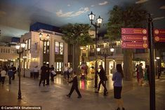 The population of KidZania strolled the streets while their parents get the shopping done