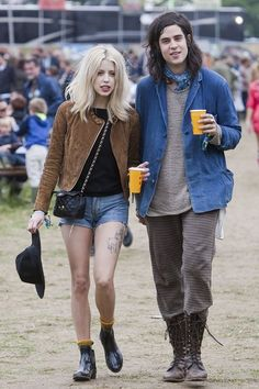 glastonbury 2013: peaches geldof + tom cohen. rip peaches. you were an inspiration, true icon, and a beautiful soul xx