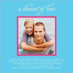 Love Shower Bridal Shower Invitation